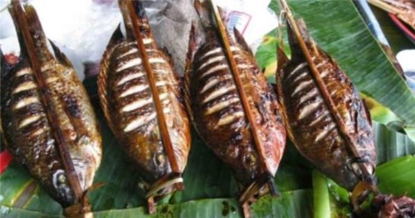 cá nướng Điện Biên