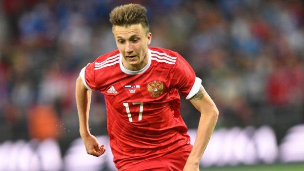 golovin ngôi sao sáng của nước Nga sau world cup 2018