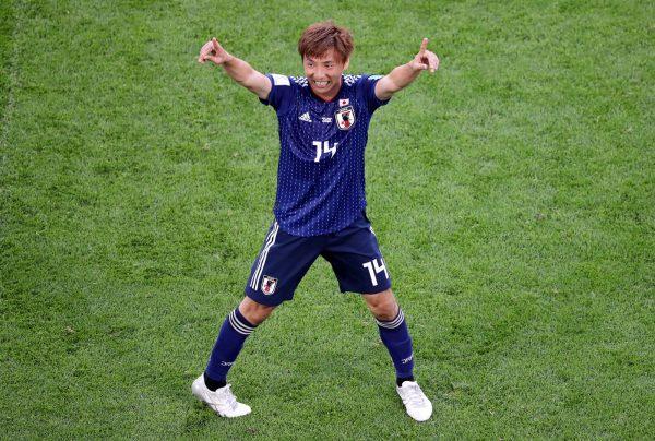Takashi Inui (Nhật Bản) ngôi sao sáng