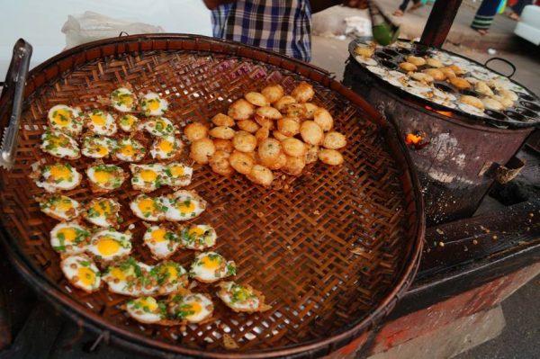 Mont Lin Ma Yar món ăn đường phố yangon