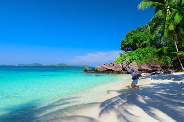hòn móng tay- hòn đảo ở phú quốc
