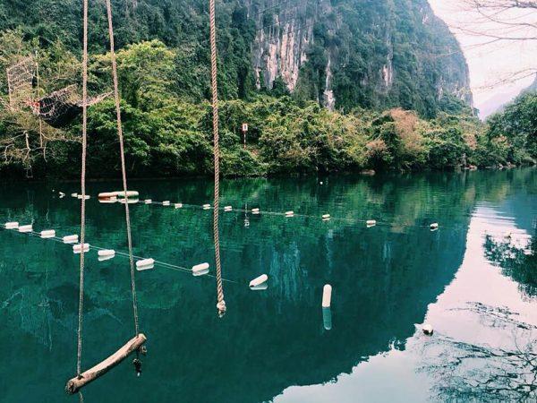 Suối nước Moọc điểm du lịch quảng bình