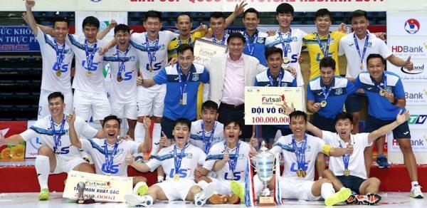 CLB futsal Thái Sơn Nam lần thứ 8 vô địch quốc gia trong 11 năm