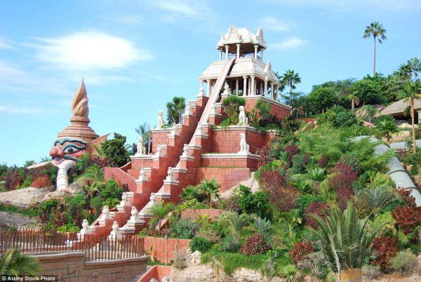 Công viên nước Siam, Adeje, Tây Ban Nha
