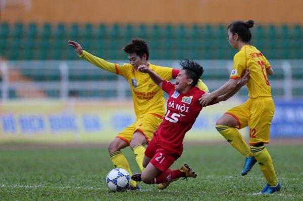 Phong Phú Hà Nam lên ngôi vô địch tại chung kết giải VĐQG nữ 2018