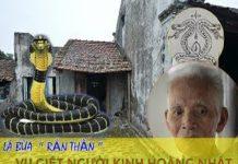 Thảm án làng Vũ Đại và lá bùa bí ẩn hình con rắn