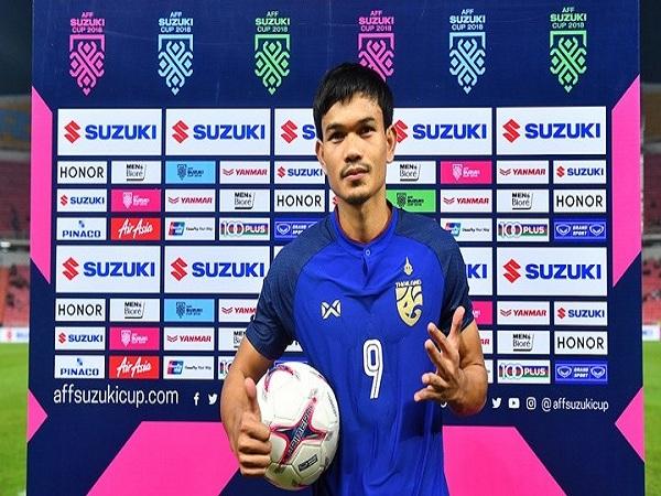 Tiền đạo Adisak Kraisorn Thái Lan có giá gấp 12 lần Công Phượng