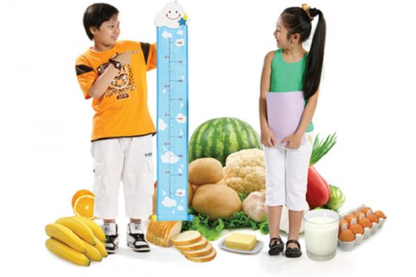 Chế độ dinh dưỡng cho trẻ vị thành niên để tăng chiều cao