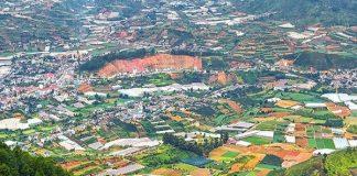 Núi Langbiang - điểm du lịch Đà Lạt