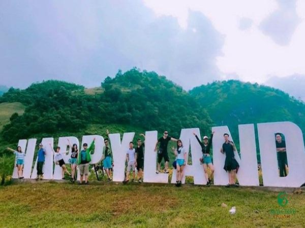 Happy Land Mộc Châu -điểm du lịch Mộc Châu
