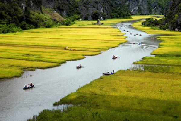 Tam Cốc – Bích Động điểm du lịch Ninh Bình