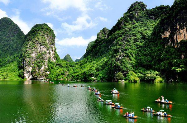 Quần thể Tràng An - du lịch Ninh Bình