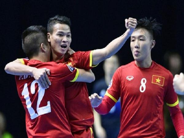 Đội futsal Việt Nam thắng giòn giã trong trận mở màn AFF 2018