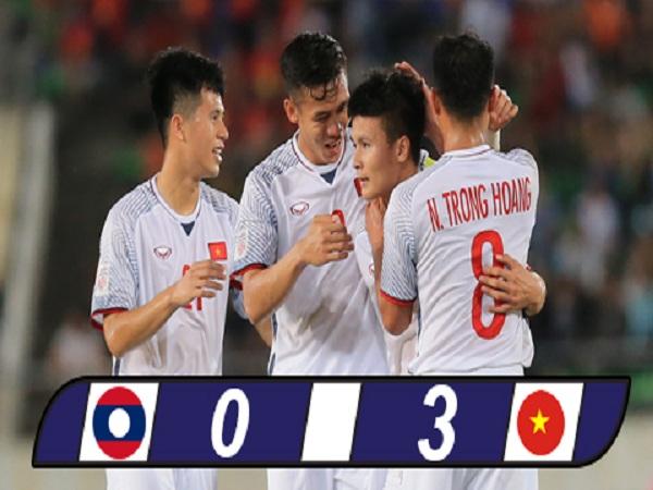 Đội tuyển Việt Nam thắng áp đảo Lào trong trận mở màn AFF Cup 2018