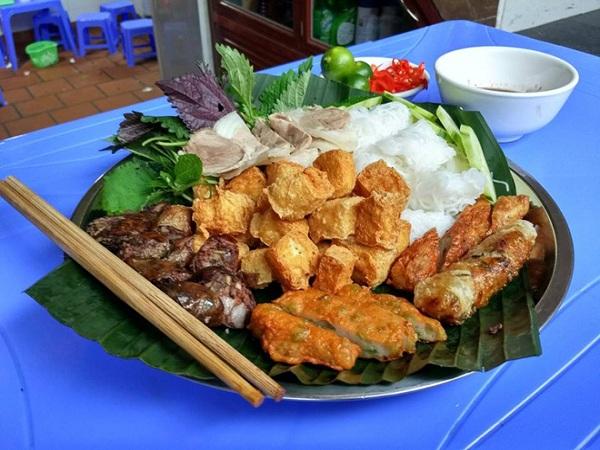 quán bún đậu mắm tôm Hà Nội