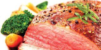 Thịt tái bò kiến đốt - món ngon ở Tam Đảo
