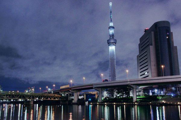 Tháp truyền hình Tokyo Skytree -điểm du lịch Tokyo