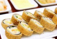 Cách làm kimbap chiên kiểu Hàn Quốc vừa ngon vừa giòn