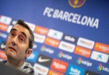 HLV Ernesto Valverde đang bị cổ động viên Barcelona chỉ trích