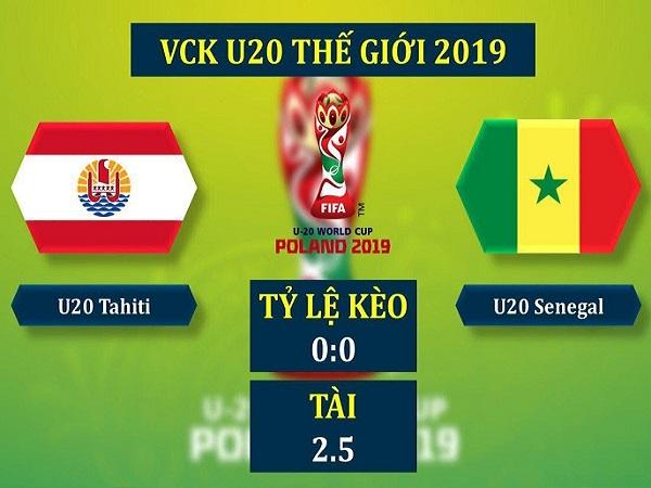 Soi kèo U20 Tahiti vs U20 Senegal, 23h00 ngày 23/05