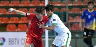 Hạ Tajikistan, U20 Futsal Việt Nam lần đầu vào tứ kết châu Á