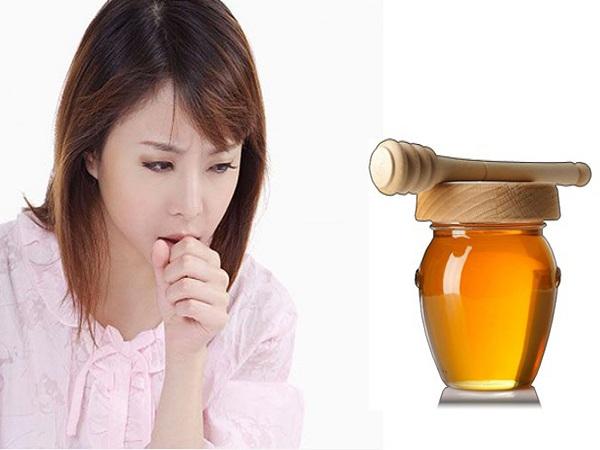 Cách chữa ho bằng mật ong