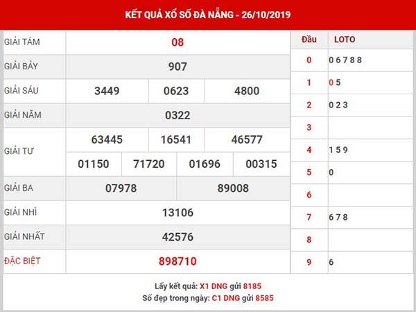 Dự đoán SX Đà Nẵng thứ 4 ngày 30-10-2019