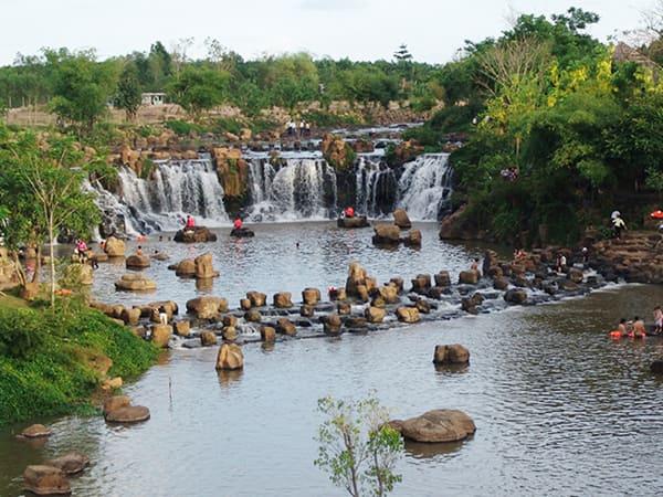 Khám phá khu du lịch thác Giang Điền - Lựa chọn hoàn hảo cuối tuần