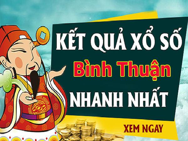 Soi cầu XS Bình Thuận chính xác thứ 5 ngày 31/10/2019