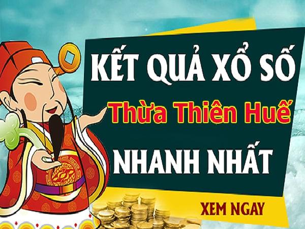 Soi cầu XS Thừa Thiên Huế chính xác thứ 2 ngày 09/12/2019