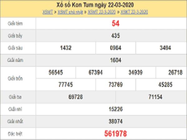 Tổng hợp chốt dự đoán kết quả xổ số Kon Tum ngày 29/03/2020