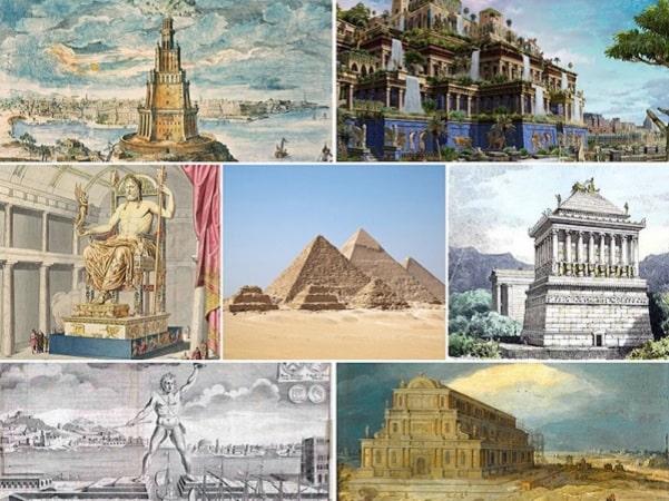 Danh sách 7 kỳ quan thế giới cổ đại