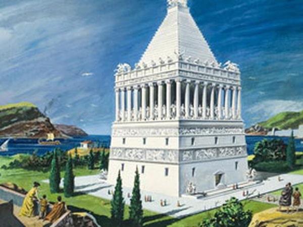 7 kỳ quan thế giới cổ đại: Lăng mộ Mausoleum