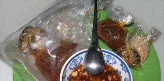 Đặc sản Tây Ninh - Bánh tráng me