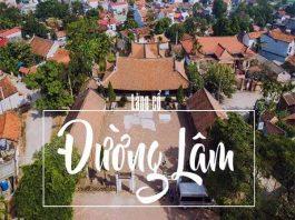 Phượt làng cổ Đường Lâm đi tìm xứ Đoài hoài niệm