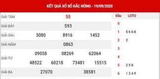 Thống kê XSDNO ngày 26/9/2020