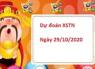 Dự đoán XSTN 29/10/2020