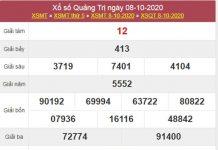 Phân tích XSQT 15/10/2020 chốt lô Quảng Trị thứ 5 chính xác