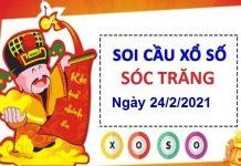 Soi cầu XSST ngày 24/2/2021