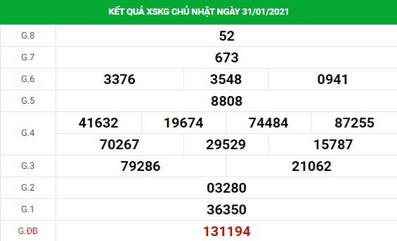 Soi cầu dự đoán XS Kiên Giang Vip ngày 07/02/2021