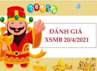 Đánh giá kết quả XSMB 20/4/2021