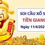 Soi cầu XSTG ngày 11/4/2021