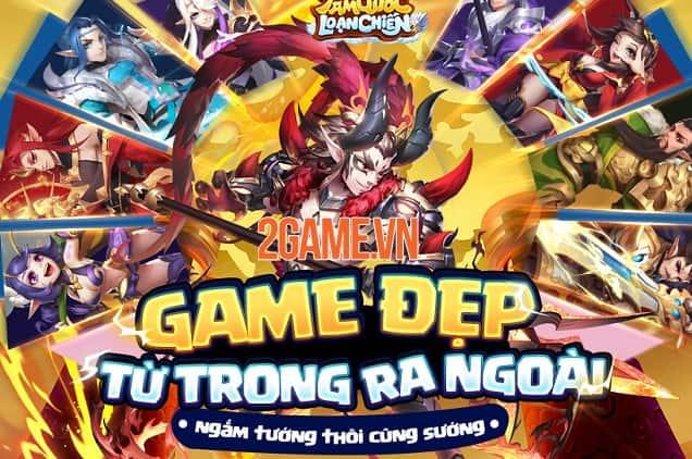 Tam Quốc Loạn Chiến Funtap – Game Tam Quốc độc lạ về Việt Nam