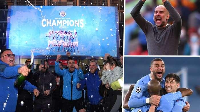 Man City tổ chức bữa tiệc Champions League sau màn ăn mừng chức vô địch Premier League