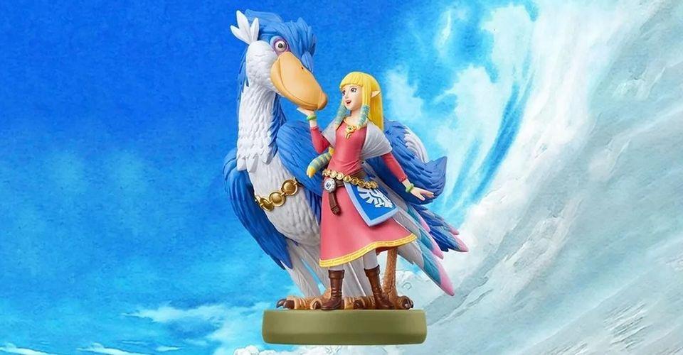 Zelda: Skyward Sword Amiibo Trì hoãn ngăn cản người chơi sử dụng tính năng hữu ích