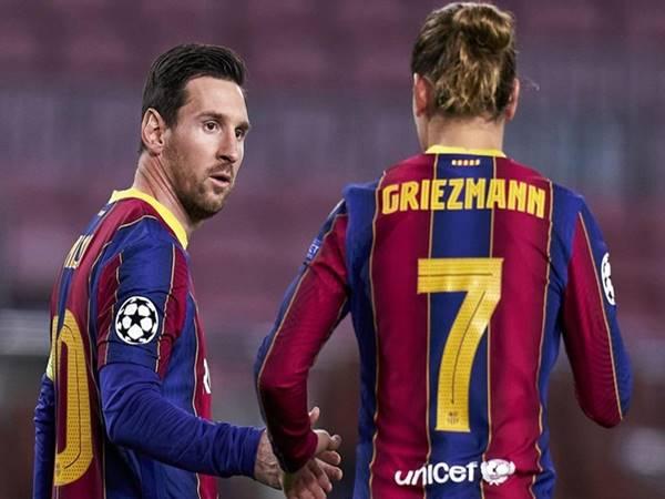 Chuyển nhượng bóng đá 7/7: Vì Messi, Barca sẵn sàng để Griezmann ra đi