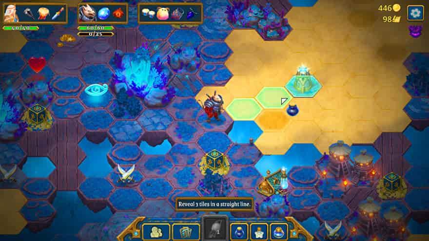 Bản cập nhật trò chơi miễn phí đầu tiên của Roguebook sẽ thêm các thẻ mới trong Gem Mines