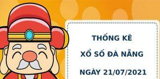 Thống kê soi cầu xổ số Đà Nẵng ngày 21/7/2021 hôm nay